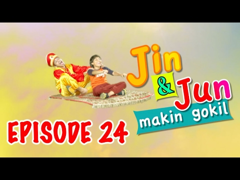 "Jin dan Jun Makin Gokil Episode 24 ""Peta Harta Karun"" Part 1"