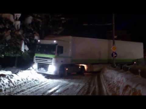 Зима във Враца
