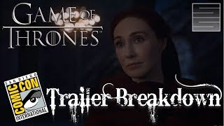 Game Of Thrones Season 7 Official SDCC Comic Con 2017 TrailerSubscribe! http://tinyurl.com/o93l5gnMerch: https://teespring.com/stores/smokescreenvids**Potential Spoilers**Game of Thrones Season 7 is here! Game Of Thrones Season 7 is at San Diego Comic Con SDCC 2017 and released an official Game Of Thrones Season 7 Trailer. Overall a great Game of Thrones Season 7 premiere! See what's in store this season on Game of Thrones Season 7! Thanks for watching! Please like, share and subscribe!E2 Preview: https://www.youtube.com/watch?v=lOs2VSAE3jkA Dragon Raised By Wolves: https://www.youtube.com/playlist?list=PLmRQBLduDYDQP1OjDLR4L2oNxw4qz1-VEGame of Thrones Season 7 Playlist: https://www.youtube.com/playlist?list=PLmRQBLduDYDQRHGVugBO5-L6XfCGaV5pcSupport SmokeScreen on Patreon: https://www.patreon.com/smokescreenvidsOne Time Donate: https://youtube.streamlabs.com/smokescreenvids1Game of Thrones Foreshadowinghttps://www.youtube.com/playlist?list=PLmRQBLduDYDQRHGVugBO5-L6XfCGaV5pcCheck my other channels!SmokeScreen Vlogs: https://www.youtube.com/smokescreenvlogsSmokeScreen Gaming: https://www.youtube.com/smokescreenvidsgaming_____________________________________________________Become a Patreon: https://www.patreon.com/smokescreenvidsGet My Nerdy T-Shirts here: http://shrsl.com/?~aby2Support SmokeScreen by shopping on Amazon: http://tinyurl.com/ppogxl2Shop Think Geek: http://www.jdoqocy.com/click-8070392-12561902-1460987025000GeekFuel (get a GOT item in your first box) https://www.geekfuel.com/smokescreen_____________________________________________________Playlists:Game of Thrones / ASOIAF: https://www.youtube.com/playlist?list=PLmRQBLduDYDSph052nREYMIpDlUHzJlPBWestworld Season 1: https://www.youtube.com/playlist?list=PLmRQBLduDYDRbXeC-bdFWC_WJ3CmykSUHStar Wars: https://www.youtube.com/playlist?list=PLmRQBLduDYDSyW8W17-AxNYLjetGQvDkm______________________________________________________Send Stuff:Lochmoor ProductionsPO Box 1011Kannapolis, NC 28083Follow Me on Social: Facebook: https://www.facebook.com/smokescreenvidsTwitter: https://twitter.com/smokescreenvids @smokescreenvidsInstagram: https://instagram.com/smokescreenvids @smokescreenvidsWebsite: http://smokescreenvids.comPatreon Executive Producers:Hoss Griffin, VolGuy10, Lala Gig , Kissa Powell, Marc Joseph aka The Snow In Winterfell, Marylin Bentley, JoAnna, Sean Hayes, Doc Holiday, Anonymous, Goska, HoonJive, KieranD20, Nicki Snow, Lo Horton, Erin Habig, Ashley Mae, Brian Solarz, Dean BwellPatreon Producers: John Carey, KSoze1024, Lauren Young ,Sarah Pearce, Jessica McWhorter, Lori Perry, Peach, Lo Horton, Anie Smith, Maureen Grigas, Nicole Kron, Andreas Aass, Vitruvius, MamaQB, Trishyjane, Ashley Smith, Jack Welsh, Claire McKen, Red River Giant, Lauren Wagstaff, Robert Thatcher, Calebflub, Jason Targaryen, Heath Hinton, Richard Clark, Andrew Smith, Goska Biczysko, Karri Neves, Demetrios, Kathryn Bassett, Pri Figueirdo, Maie, Sanford Hoffman, Heddy Hop, Ricky, Stacy Fournet, Anesha Smith, Darrin Reisinger, Zombie Hoax, Lawrence Froncek, Tameka, Steve Mckenna, Jessy C., Joe Gaylord, Cait, Luis Teleno, Magaly , Taylor, Marilyn Benitez, Amber Tilton, Jenni Upcott, Kimberly Sherman, Betsy Leiss, Joanne Long, KatS, The Sennett, CinnE, Michele, Dale Cooper, Denny D'Intino, Nynke Bouma, Jamal, AvecRali, Killerfrost419, Kimberly Genova, Lady Laxara, Carol Funk, Keltia Breton, Vasilie Crisan, Alexis Bell, Ygritte's Bow, Bolo7678, Mayra Perez Colon, Shawn Shifflett, Hairless Oyster, Barbara Chetti, Shahade Fonville, Crawdaddct, Stephen Robinson
