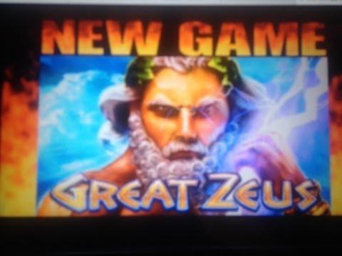 GREAT ZEUS Slot machine Bonus WIN – WMS