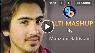 Manzoor Baltistani singing Balti Songs at Lok Virsa Islamabad