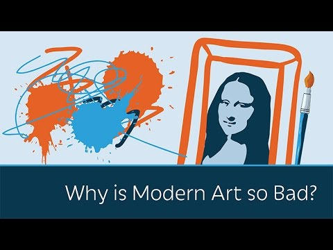 Why modern art is so bad