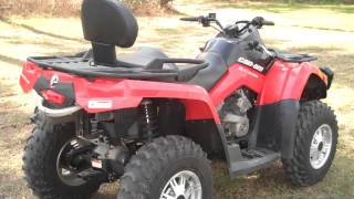 7. CAN AM 500cc OUTLANDER MAX 2UP ~ CROOMATVRENTAL.COM ~ 352-345-8797 ~ BROOKSVILLE ~ FLORIDA