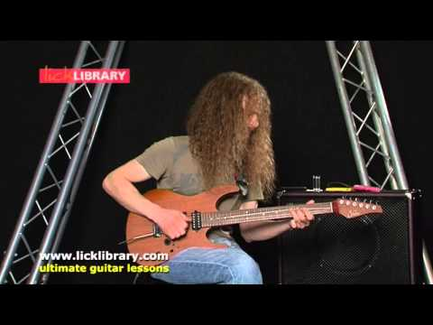 Guthrie - http://goo.gl/5QuCY Guthrie Govan performs Ner Ner live during his webcast. Watch the FULL Guthrie Govan Licklibrary webcast online packed with over an hours...