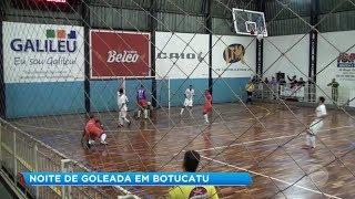 Botucatu: noite de goleada pela Copa Record de Futsal Masculino