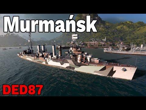 nie umiem wydobyć jego siły   - Murmańsk - World of Warships