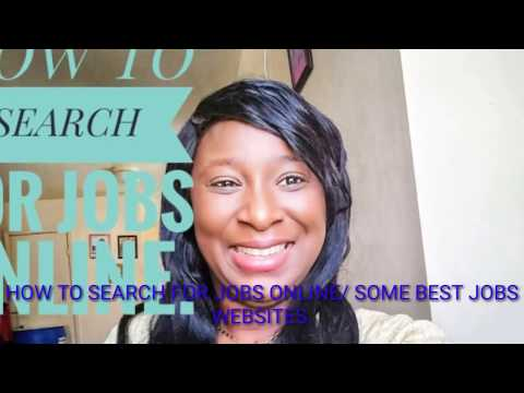 How to search for jobs online/ 10 best job search websites.