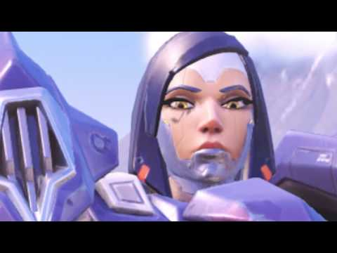 Genji is trying to teach you (Overwatch) (видео)