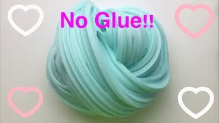 How To Make Fluffy Slime With No Glue!!