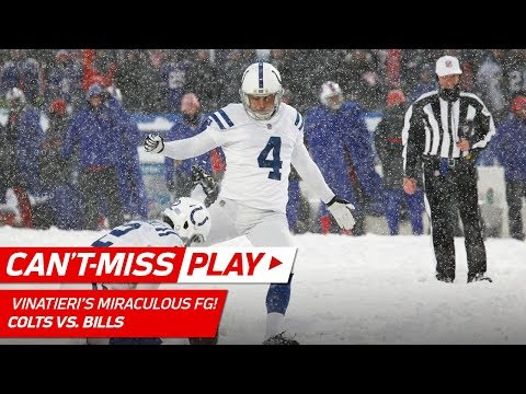 Video: You Won't Believe this Miraculous Extra Point Try in the Snow! | Can't-Miss Play | NFL Wk 14