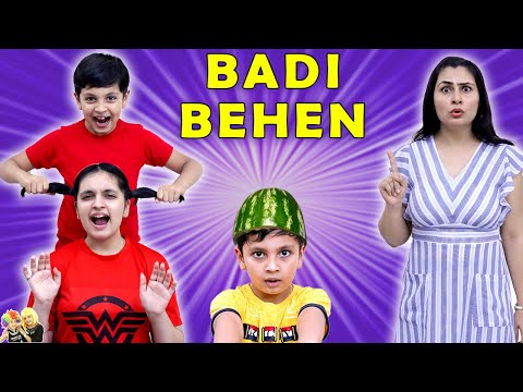 BADI BEHEN | A Short Comedy Movie | Types of Brother sisters | Aayu and Pihu Show