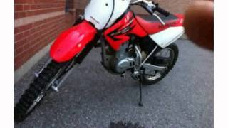 9. 2006 Honda CRF 100F - Specs and Specification