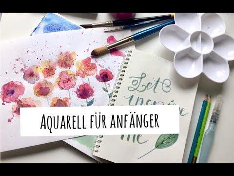 Aquarell für Anfänger | Meine Bilder | Tipps und Techniken | Watercolor for Beginners