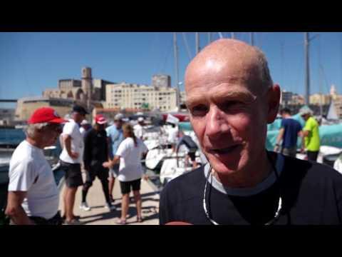 Marseille 2017 2. Regattatag