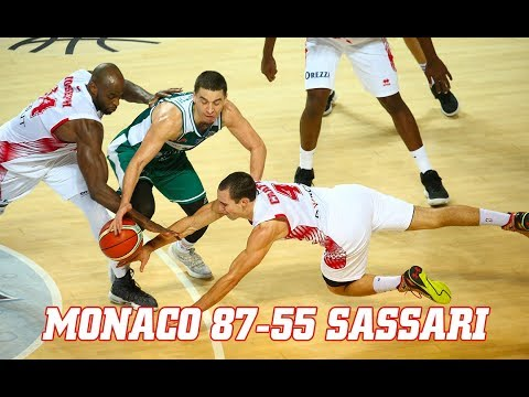 BCL — Monaco 87 - 55 Sassari — Highlights