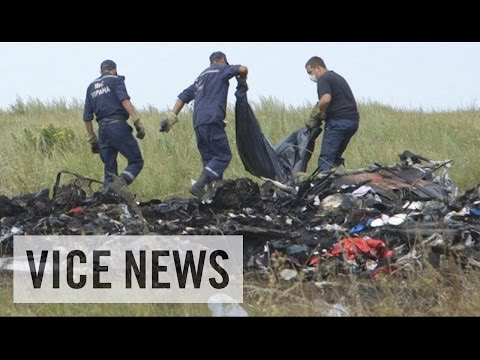 flight - Subscribe to VICE News here: http://bit.ly/Subscribe-to-VICE-News Last week, a Malaysian passenger jet was shot down over eastern Ukraine, killing all 298 people on board. It has yet to be...