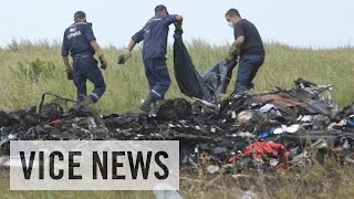 Searching Through The Debris Of Flight MH17