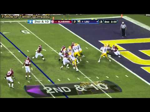 Zach Mettenberger vs Alabama 2012 video.