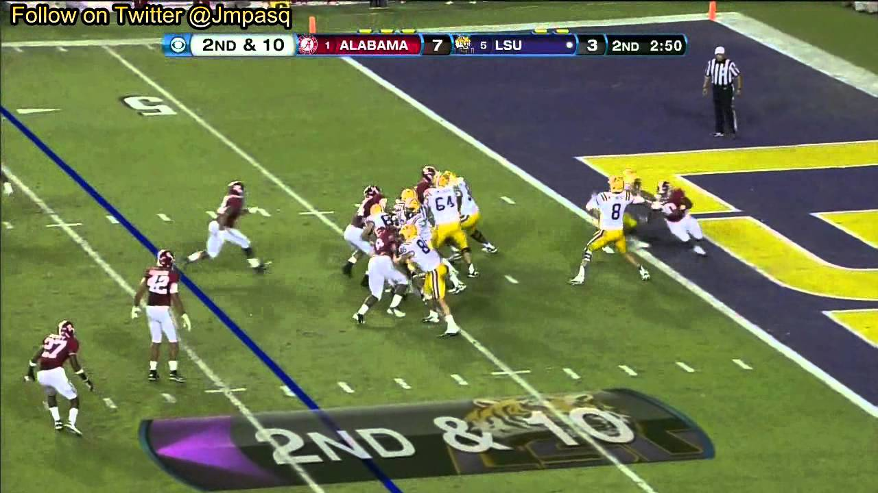 Zach Mettenberger vs Alabama (2012)