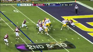 Zach Mettenberger vs Alabama (2012)