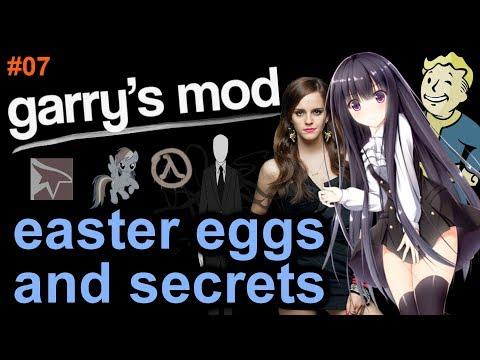Garrys Mod - GARRY'S MOD EASTER EGGS AND SECRETS Episode 7 HD