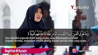 Maghfirah M Hussein surah al bayyinah Full HD
