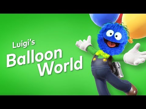 Okay this is TOO MUCH FUN │ Luigi's Balloon World (видео)