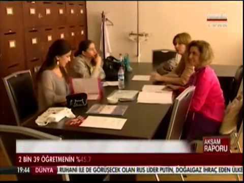 Öğretmen anketimiz Habertürk TV'de