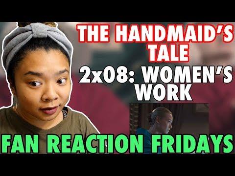 "The Handmaid's Tale Season 2 Episode 8: ""Women's Work"" Reaction & Review   Fan Reaction Fridays"