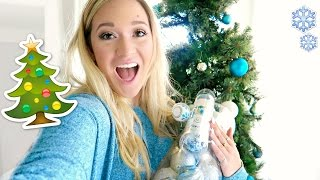 DECORATING THE CHRISTMAS TREE!!! by Alisha Marie Vlogs