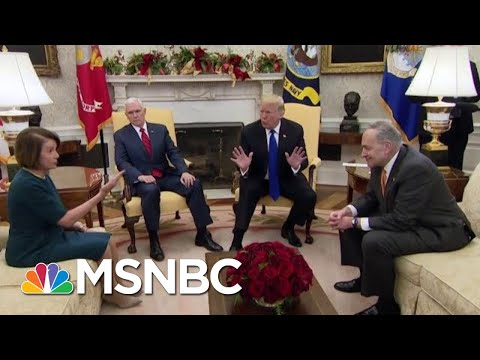 Ezra Klein: Oval Office Circus Proves Donald Trump 'Doesn't Want The Wall' | The Last Word | MSNBC