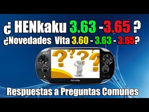 HENkaku 3.63-3.65?  !!NO!! - Novedades Scene psvita