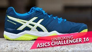 video Unboxing Asics Challenger 10 2016
