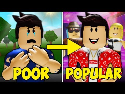 Poor to Popular: A Sad Roblox Bloxburg Movie