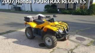 10. 2007 Honda FOURTRAX RECON ES for sale in Meriden, CT