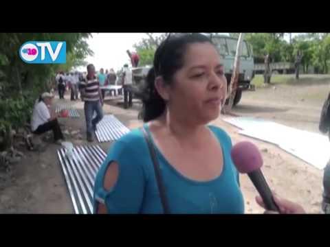 Familias de 33 barrios y 88 comunidades de Ciudad Darío reciben Plan Techo