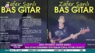 Zafer Şanlı Bas Gitar Metodu Tanıtım Röportajı..