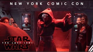 VIDEO: STAR WARS: THE LAST JEDI New York Comic Con Experience