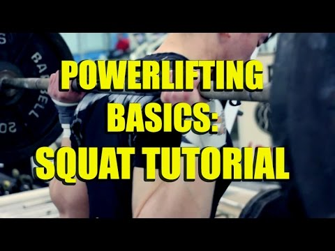 Basics - POWERLIFTING BASICS   Complete Squat Tutorial   (9/21/2014) Get Your Quest Products Here: http://bit.ly/Quest_Kang Like my Facebook page: https://www.facebook.com/ipfpowerlifter Check out...