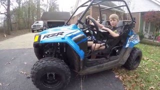 4. Polaris Rzr 170 (youth model)