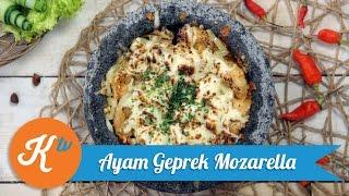 Yuk, Masak Ayam Geprek Mozzarella Untuk Berbuka!