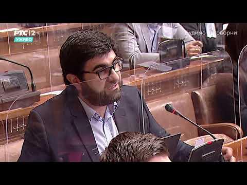 Postavljanje pitanja u Skupštini 11. 05. 2021. g. – Narodni poslanik SPP-a dr. Jahja Fehratović