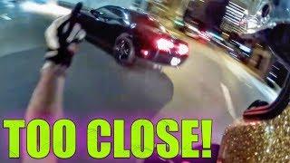 37 Stupid & Crazy Motorcycle Close Calls & Near Misses