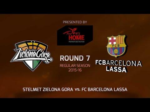 Highlights: RS Round 7, Stelmet Zielona Gora 64-93 FC Barcelona Lassa