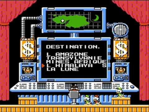DuckTales : La Bande à Picsou NES