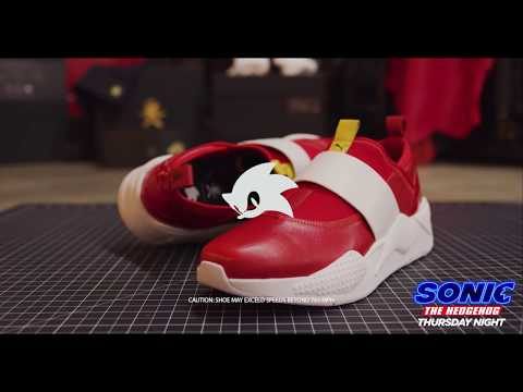 Sonic The Hedgehog x The Shoe Surgeon