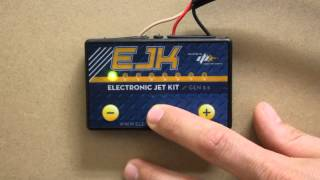 10. Adjusting the EJK (Electronic Jet Kit) Fuel Controller