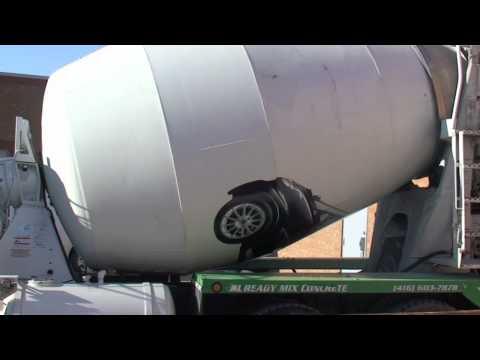 0 Smart sinvite sur les camions à ciment