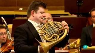 Wolfgang Amadeus Mozart Horn Concerto Nr. 3 KV. 447 I.Allegro Radek Baborák, horn Orquesta Sinfónica de RTVE...