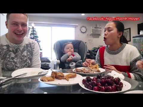 Vlog 427 ll Chồng Yêu Làm Bánh Kẹp Ăn Sáng Cùng Cánh Gà Chiên Và Cherry - Thời lượng: 21:55.